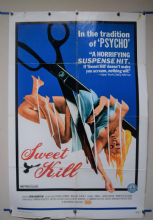 Sweet Kill (1972) Horror Poster Tab Hunter - US One Sheet